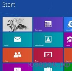 интерфейс Windows8