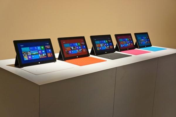Клавиатуры для планшета Surface RT