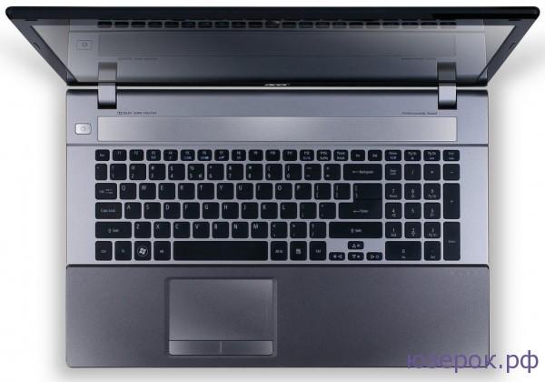 Ноутбук ACER Aspire V3-771G вид сверху
