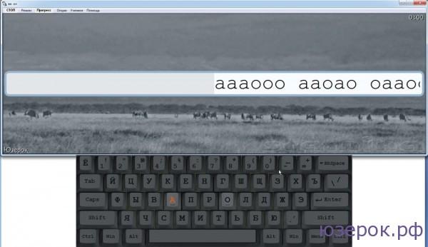 Вид клавиатурного тренажера Stamina