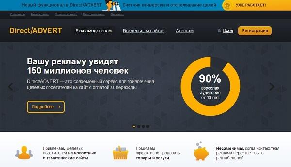 Direct/ADVERT предъявляет высокие требования к качеству рекламных площадок