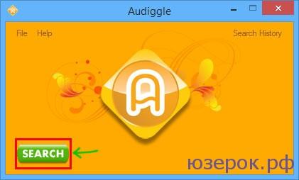 Ищем музыку с помощью Audiggle