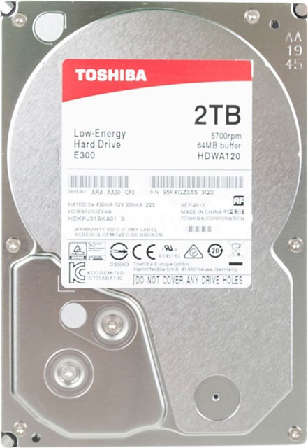 HDD Toshiba E300 2Tb