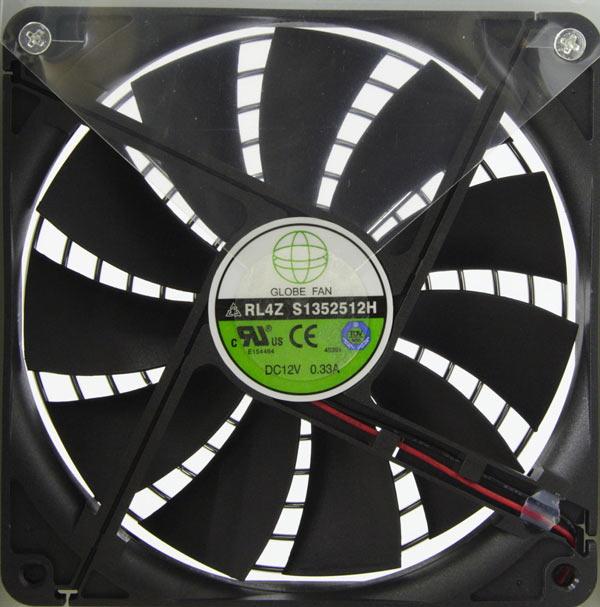 Вентилятор GLOBE FAN RL4Z S1352512H