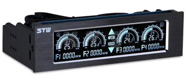 Контроллер для четырех вентиляторов Stw 5043