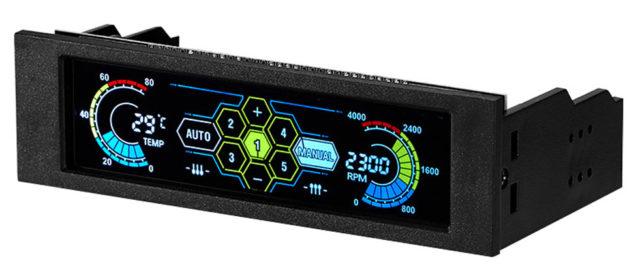 Контроллер для пяти вентиляторов с цветным дисплеем NI5L